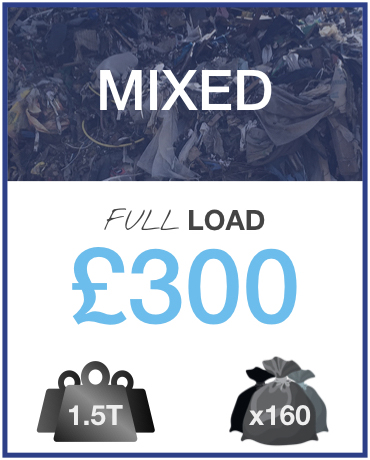 Mixed Rubbish Removal Pricing