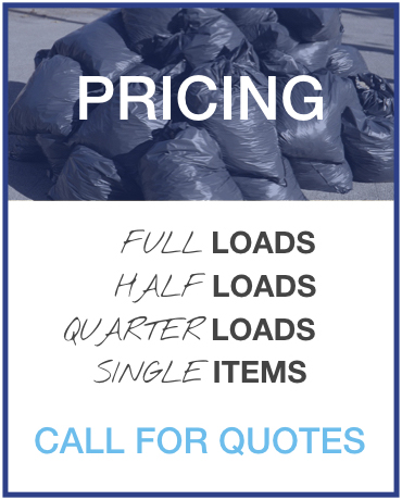 Rubbish Removal Pricing